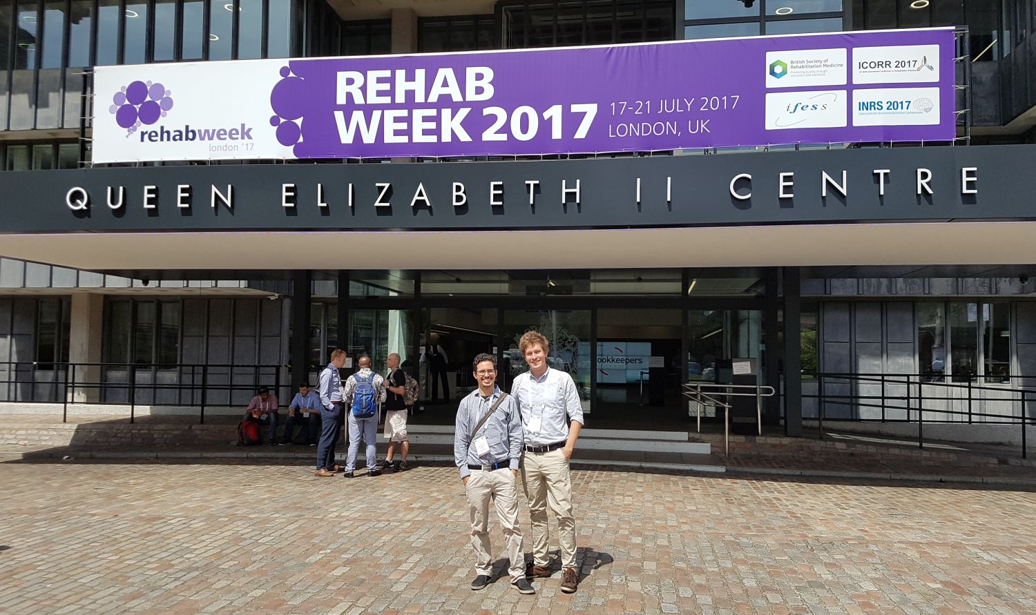 Alex and Valentin at Rehab Week 2017